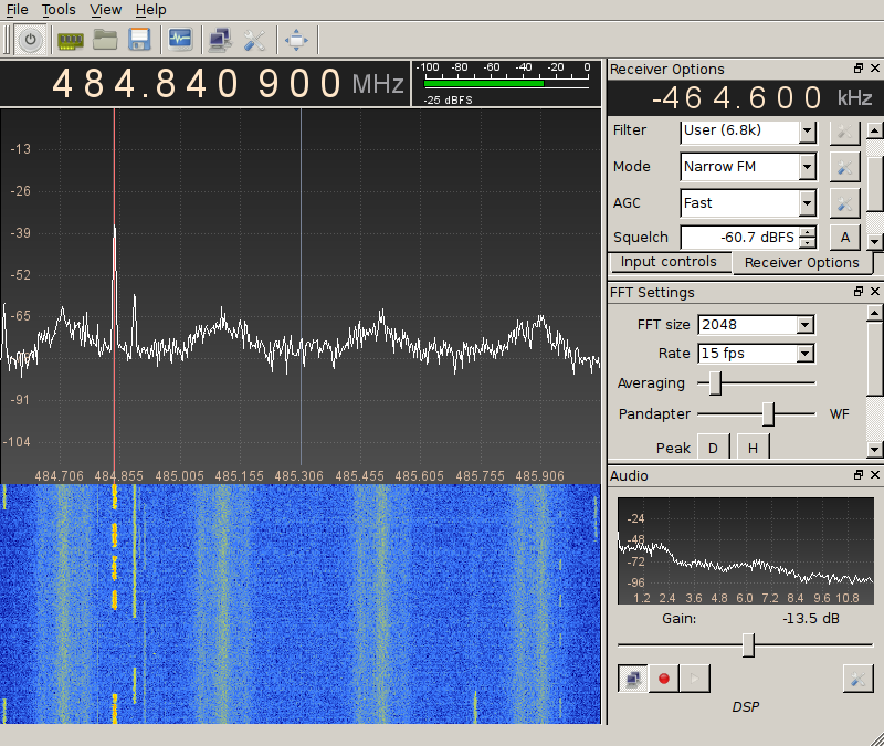 Decoding P25 with RTL-SDR on Debian
